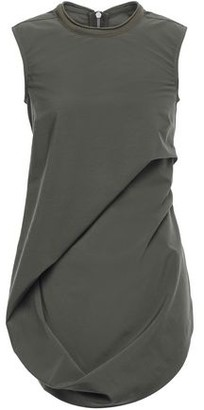 Rick Owens Draped Wool-blend Top