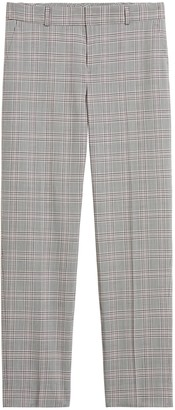 Banana Republic Petite Avery Straight-Fit Washable Wool-Blend Ankle Pant