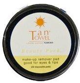 TanTowel Tan Towel Make-Up Remover Pads Beauty Puck