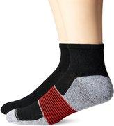 Hanes Men's X-Temp Arch Ventilation 4 Pack Ankle Socks