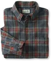 L.L. Bean Scotch Plaid Flannel Shirt, Slightly Fitted