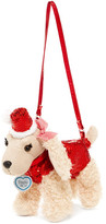 Confetti Santa Hat Sadie Dog Purse