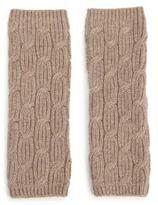 Portolano Cable-Knit Arm Warmers