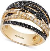 Effy Caviar by Diamond Crossover Ring (1-1/3 ct. t.w.) in 14k Gold