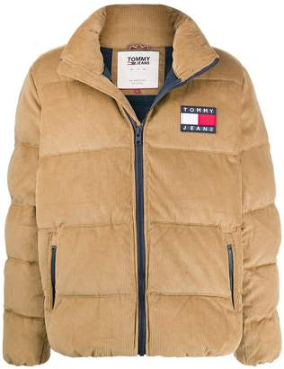 Tommy Jeans cord puffer jacket
