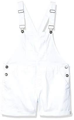Cover Girl Plus Size Juniors Cute Denim Overall Shorts Slim fit Bib Strap Sexy