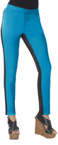 Shape Fx Blue & Black Alicia Pants