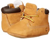 Timberland Kids Crib Bootie with Hat (Infant/Toddler) (Wheat) Kid's Shoes
