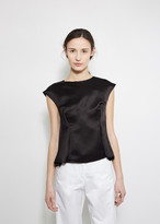Maison Margiela Sleeveless Satin Top
