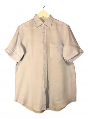 Non Signã© / Unsigned Blue Linen Shirts