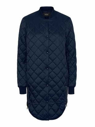 Vero Moda Women's Vmhayle Ss20 3/4 Jacket Col Quilted