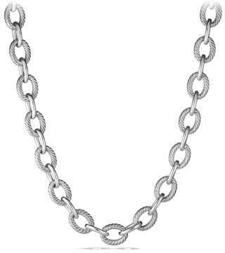 David Yurman Extra-Large Oval Link Necklace