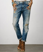Denim & Supply Ralph Lauren Distressed Oceanside Wash Boyfriend Jeans