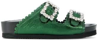 SUECOMMA BONNIE Jewel buckled sandals