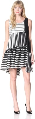 Eva Franco Women's Lula Multi-Stripe Dress