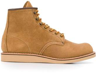 Red Wing Shoes flat sole ankle boots