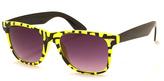 A. J. Morgan Yellow & Black Kindergarten Sunglasses