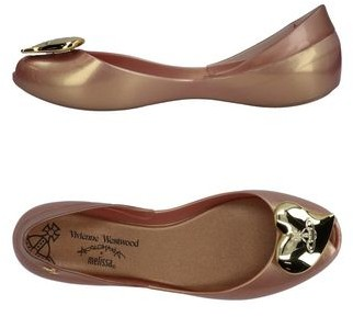 VIVIENNE WESTWOOD ANGLOMANIA + MELISSA Ballet flats