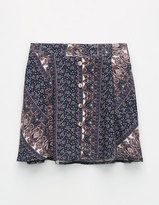 Full Tilt Mix Media Paisley Girls Skirt