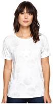 Converse Big Dot Chuck Patch Roll-Sleeve Short Sleeve Tee Women's T Shirt