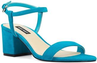 Nine West Gloria Women's Suede Block Heel Sandals