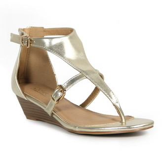 Catherine Malandrino Rena Low Wedge Sandal