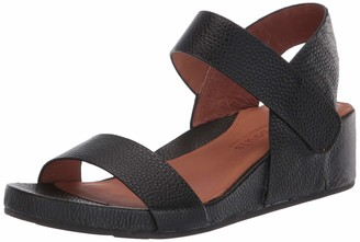 Gentle Souls by Kenneth Cole Women's Two Band Wedge Sandal