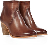NDC Brown Ness Parma Softy Ankle Boots