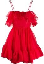 Christopher Kane organza frill mini dress