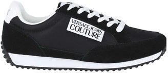 Versace Jeans Couture Leather Platform Sneakers