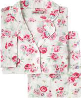 Cath Kidston Wells Rose Brushed Flannel Long PJ Set
