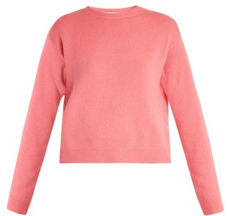 Valentino Open Back Cashmere Sweater - Womens - Pink