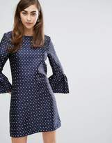 Sister Jane Dress With Exaggerated Sleeves