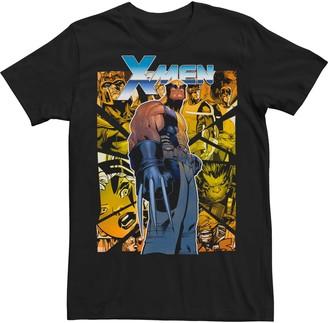 Wolverine Men's Marvel X-Men Shattered Glass Tee