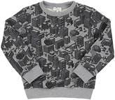 Paul Smith City-Print Stretch-Cotton French Terry Sweatshirt