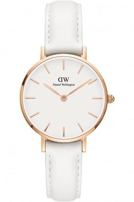 Daniel Wellington Ladies Petite 28 Bondi White Watch DW00100249