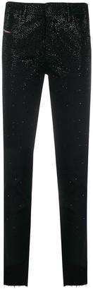 Diesel Babhila mid-rise slim jeans