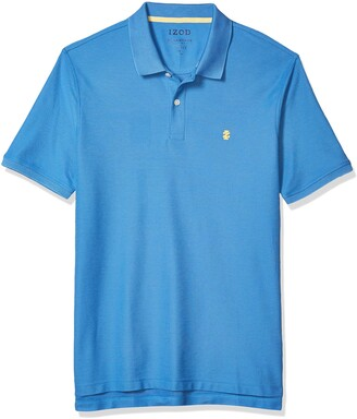 Izod Men's Advantage Performance Slim Pique Polo Shirt