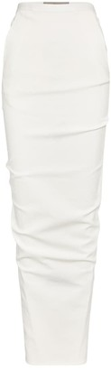 Rick Owens Pillar cotton-blend midi skirt