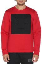 Fendi Neoprene Sweatshirt w/Cube Face