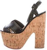 Christian Louboutin Studded Platform Sandals