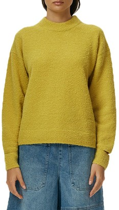 Tibi Boucle Alpaca-Blend Sweater