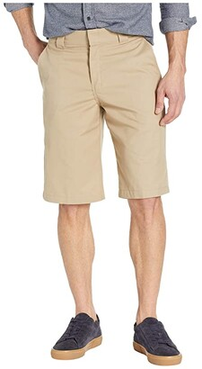 Dickies 13 Flat Front Active Waist Shorts Regular Fit (Desert Sand) Men's Shorts