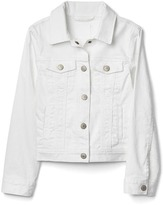 Stain resistant denim jacket
