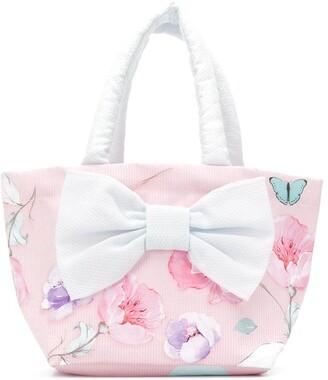 Lapin House Floral Print Tote Bag
