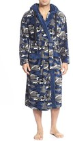 Majestic International Men's Camo Fleece Robe