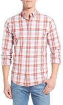 Gant Men's Trim Fit Madras Plaid Sport Shirt