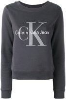 Calvin Klein Jeans logo sweatshirt - women - Cotton - M