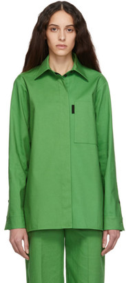 Kwaidan Editions Green Bonded Shirt