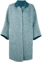 Loro Piana three-quarter sleeve coat - women - Alpaca/Virgin Wool/Polyimide - 42